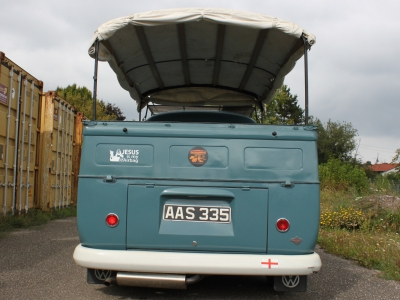 1961 VW T1 Pritsche Single Cab Taubenblau