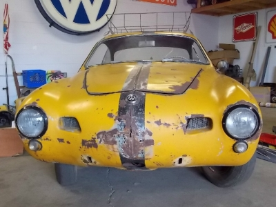 "1955 VW Karmann Ghia ""Lowlight"""